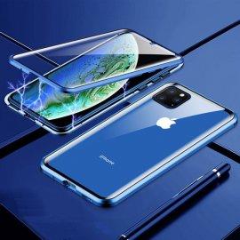 Carcasa 360 iPhone 13 Pro o Pro Max Magnetica Azul