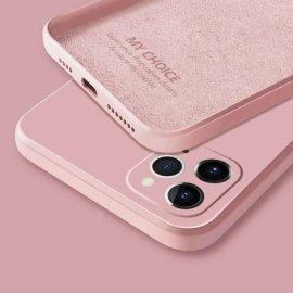Funda sedosa iPhone 13 Pro o Pro Max Rosa
