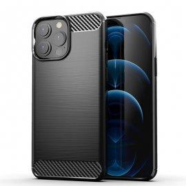 Funda iPhone 13 Pro o Pro Max textura Carbono Negra