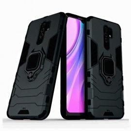 Funda Magnetica Xiaomi Redmi 9 o 9T Anilla Negra