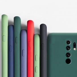 Funda Silicona liquida Xiaomi Redmi 9 o 9T sedosa