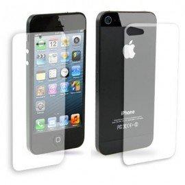 Doble protector Iphone 5 Pro (pantalla + trasera)