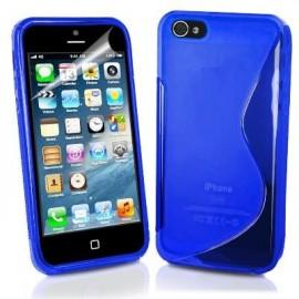 Funda IPhone 5 Gel Negra Wave