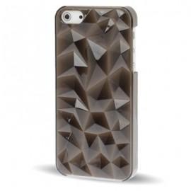 Funda Iphone 5 Cristal 3D Negra