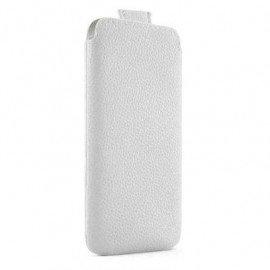 Funda Iphone 5 Cuero PT Especifica Blanca