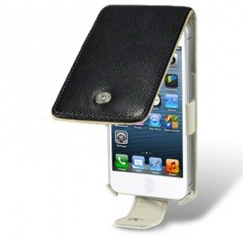 Funda Piel Natural Iphone 5 Negra