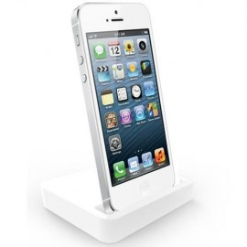 Base Dock IPhone 5 Blanca