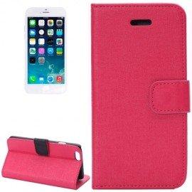 Funda cuero Iphone 6 Zen Soporte Rosa