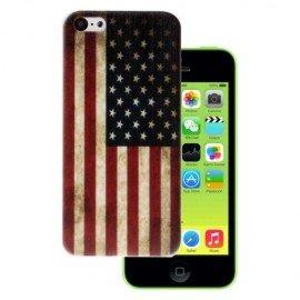 Funda IPhone 5C Gel USA Vintage
