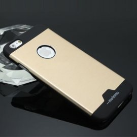 Funda Iphone 7 Aluminio Dorada