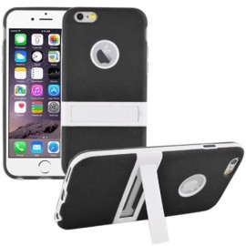 Funda Iphone 6 Plus Soporte Negra Slim
