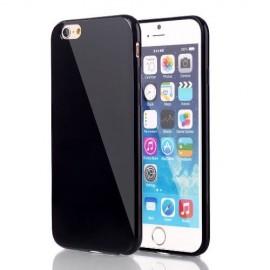 Funda IPhone 6 Plus Gel Premium Negra Opaca