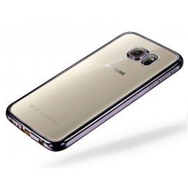 Funda Galaxy A5 2017 Gel Transparente con bordes Negro