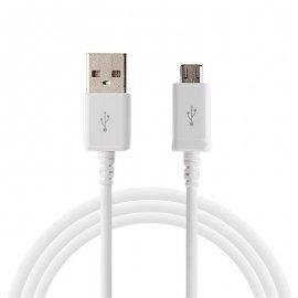 Cable Micro USB 2.0 Smartphones y Tabletas Blanco