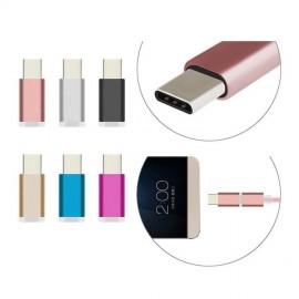 Adaptador micro USB tipo C