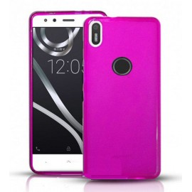 Funda Gel BQ Aquaris X Flexible y lavable Rosa