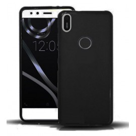 Funda Gel BQ Aquaris X Flexible y lavable Negra
