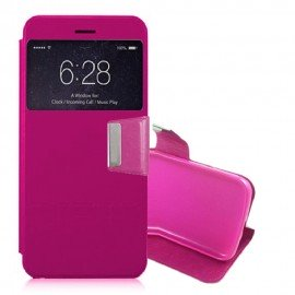 Funda Libro Sony Xperia XZ con Tapa rosa