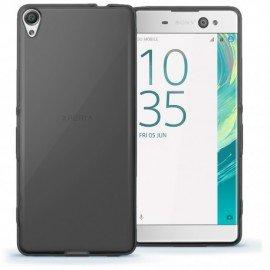 Funda Gel Sony Xperia XA1 Ultra Flexible y lavable negra