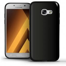 Funda Gel Samsung Galaxy A5 2017 Flexible y lavable Negra