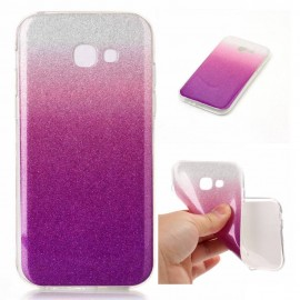 Funda Gel Samsung Galaxy S8 Glitter Rosa