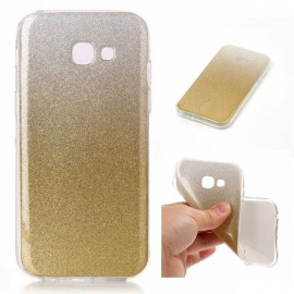 Funda Gel Samsung Galaxy S8 Plus Glitter Dorada