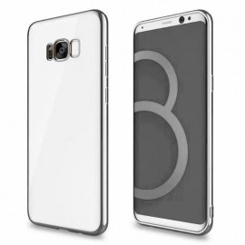Funda Gel Galaxy S8 Plus con bordes Cromados