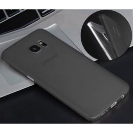 Funda Gel Samsung Galaxy S7 Edge Negra Flexible y lavable