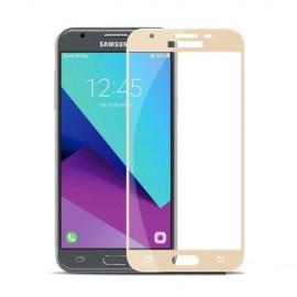 Protector Pantalla Cristal Templado Premium Samsung Galaxy J5 2017 Dorado