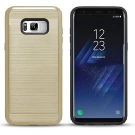 Carcasa Samsung Galaxy S8 Hybrid AntiGolpes Dorada