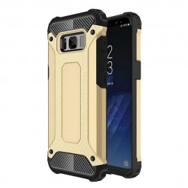 Funda Galaxy S8 Plus Shock Resistante Dorada