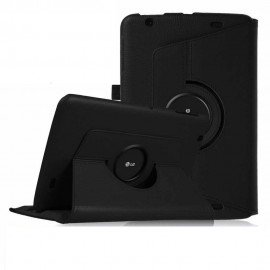 Funda Cuero LG V700 Pad Giratoria Negra