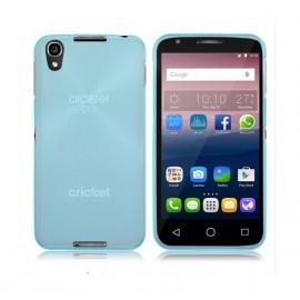 Funda Gel Alcatel Idol 4 Flexible y lavable Azul