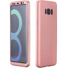 Funda Galaxy S8 Doble Cara Full Rosa