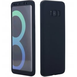 Funda Galaxy S8 Plus Doble Cara Full Negra