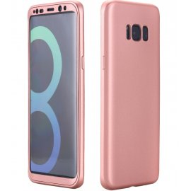 Funda Galaxy S8 Plus Doble Cara Full Rosa