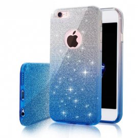 Funda Iphone 7 Diamante Star Azul