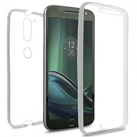Funda Moto G4 Plus Doble Cara Full Transparente