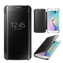 Funda Full Ventana Samsung Galaxy J7 2016 Negra