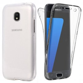 Funda Galaxy J5 2017 Doble Cara Full Transparente