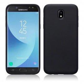 Funda Gel Samsung Galaxy J7 2017 Flexible y lavable Negra