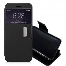 Funda Libro Samsung Galaxy J7 2017 con Tapa Negra