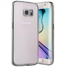 Funda Gel Galaxy S7 Edge con bordes Negra