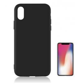 Funda Gel Iphone X Negra Tpu