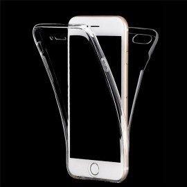 Funda iphone 8 Doble Cara Full Transparente