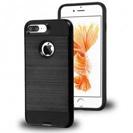 Carcasa iPhone 8 Plus Hybrid AntiGolpes Swag Metal y Gel Negra