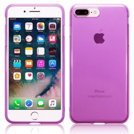 Funda Gel Iphone 7 Plus Gel Rosa