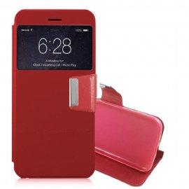 Funda Libro LG Q6 con Tapa Roja