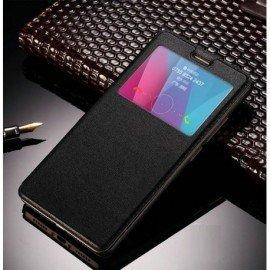 Funda Libro Ventana Huawei Mate 10 Negra