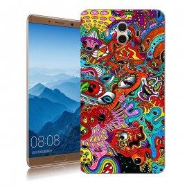 Funda Huawei Mate 10 Gel Dibujo Tribal